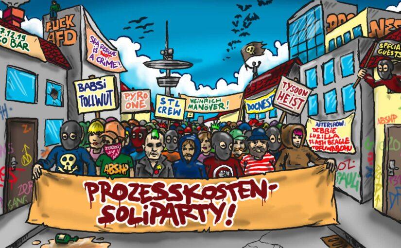 Live am 27.12.19 im Gängeviertel, Hamburg