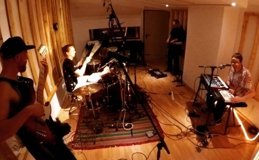 Wir sind im Studio